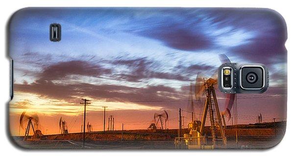 Oil Rigs 3 Galaxy S5 Case