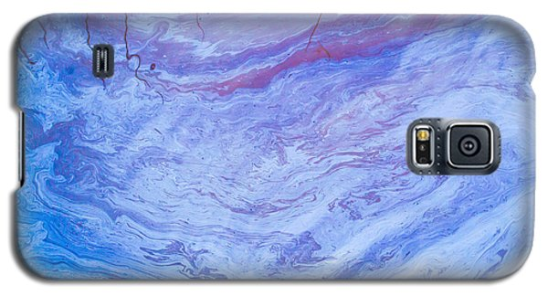 Oil Spill On Water Abstract Galaxy S5 Case