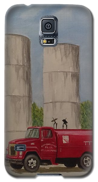 Oil Truck Galaxy S5 Case