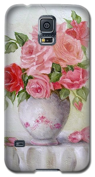 Oil Vase Rose Galaxy S5 Case by Chris Hobel