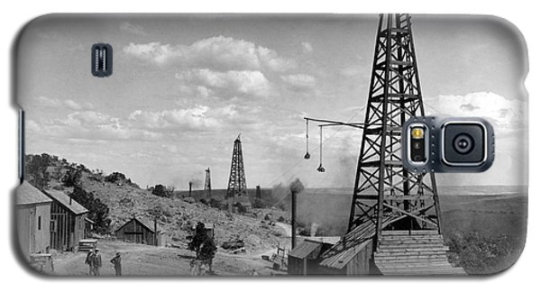 Oil Well, Wyoming, C1910 Galaxy S5 Case