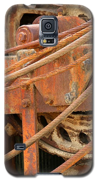 Oil Production Rig Galaxy S5 Case
