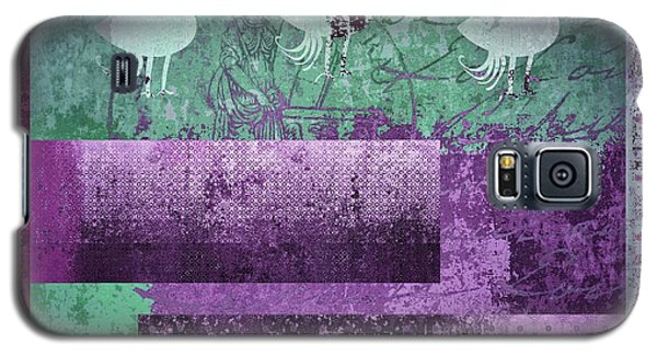 Galaxy S5 Case featuring the digital art Oiselot 01 - J097179222-bl02a by Variance Collections