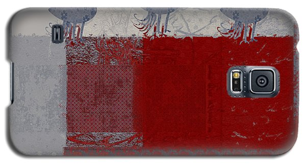 Galaxy S5 Case featuring the digital art Oiselot - J106161103_02bb by Variance Collections