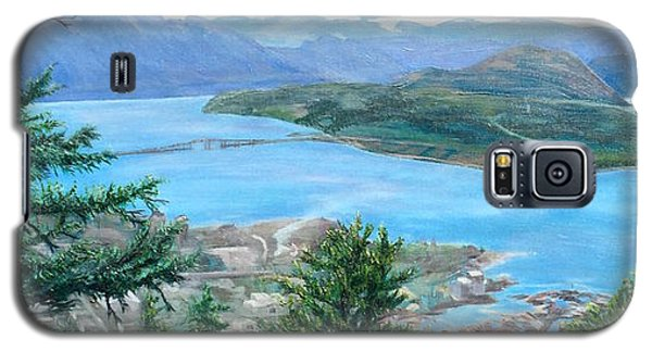 Okanagan Blue Galaxy S5 Case