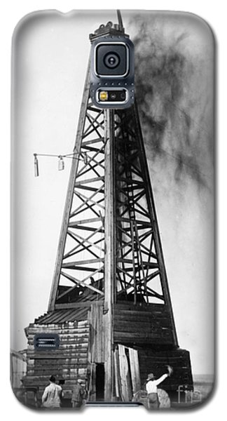 Oklahoma: Oil Well, C1922 Galaxy S5 Case