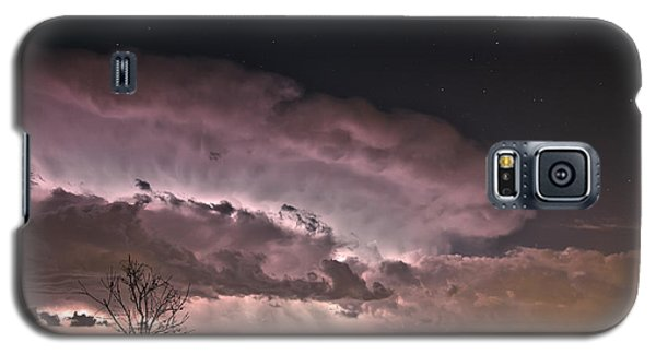 Galaxy S5 Case featuring the photograph Oklahoma Sky Of Fire by James Menzies