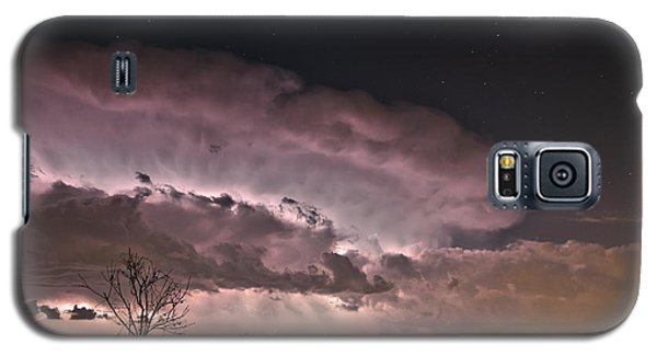 Oklahoma Sky Of Fire Galaxy S5 Case by James Menzies