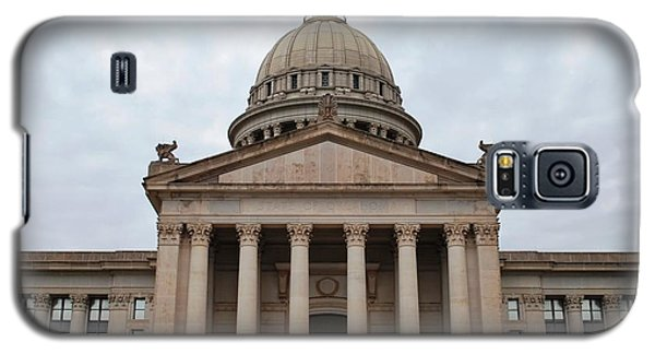 Oklahoma State Capitol - Front View Galaxy S5 Case by Matt Harang