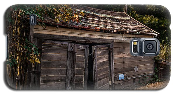 Old Abandoned Shed Sonoma County Galaxy S5 Case