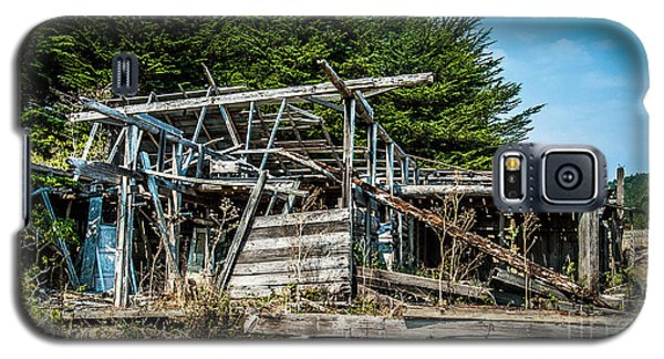 Old Abandoned Structure Sonoma County Galaxy S5 Case