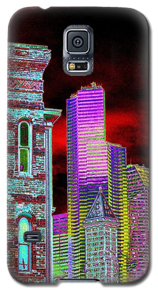 Old And New Seattle Galaxy S5 Case by Tim Allen