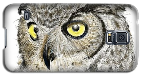 Old And Wise Galaxy S5 Case by Darren Cannell