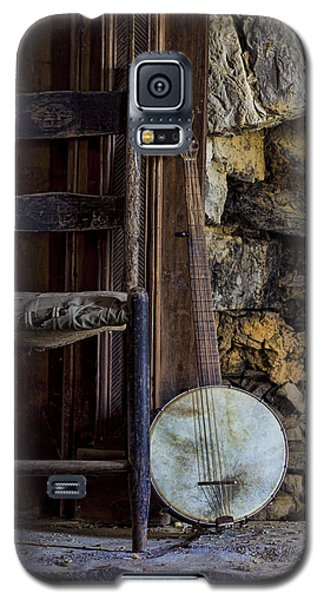 Old Banjo Galaxy S5 Case by Heather Applegate