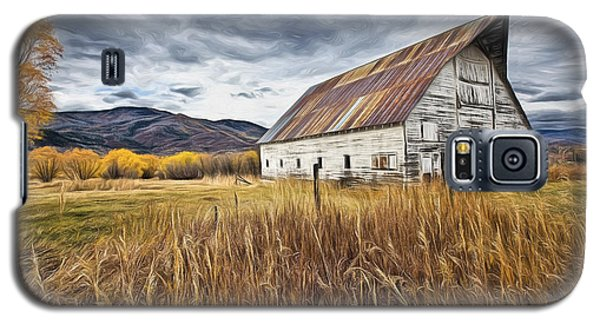 Old Barn In Steamboat,co Galaxy S5 Case by James Steele
