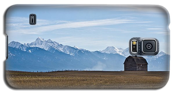 Old Barn, Mission Mountains Galaxy S5 Case