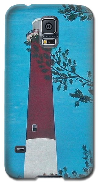 Galaxy S5 Case featuring the painting Old Barney by Lori Jacobus-Crawford