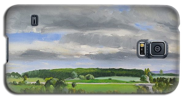 Galaxy S5 Case featuring the painting Old Barrie Road by Jo Appleby