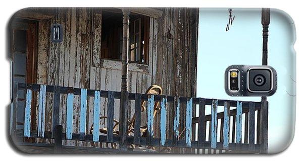 Old Blue Balcony Galaxy S5 Case