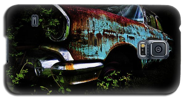 Old Blue Chevy Galaxy S5 Case