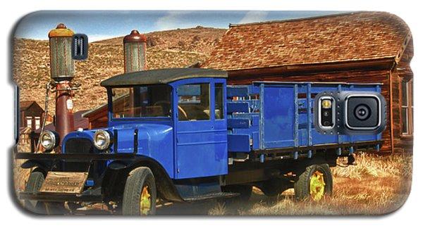 Old Blue 1927 Dodge Truck Bodie State Park Galaxy S5 Case by James Hammond