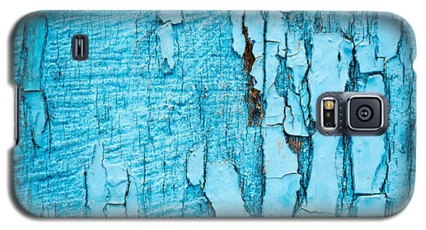 Galaxy S5 Case featuring the photograph Old Blue Wood by John Williams