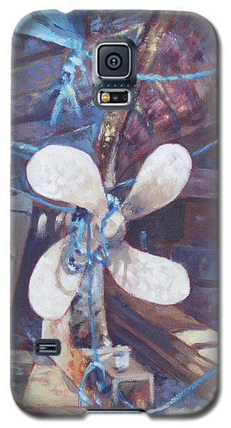 Old Boat Propeller Galaxy S5 Case