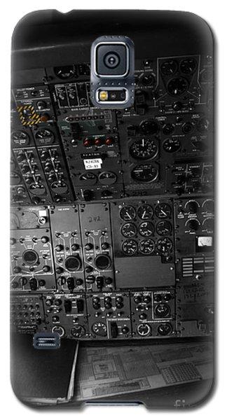 Old Boeing 727 Cockpit Galaxy S5 Case