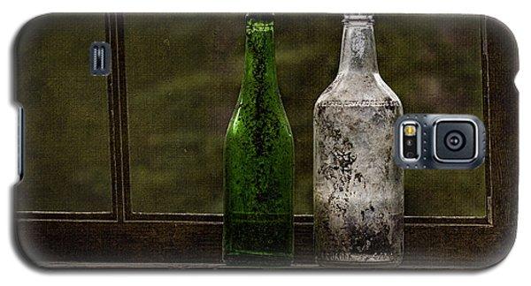 Old Bottles In Window Galaxy S5 Case