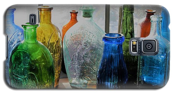 Galaxy S5 Case featuring the photograph Old Bottles by John Scates
