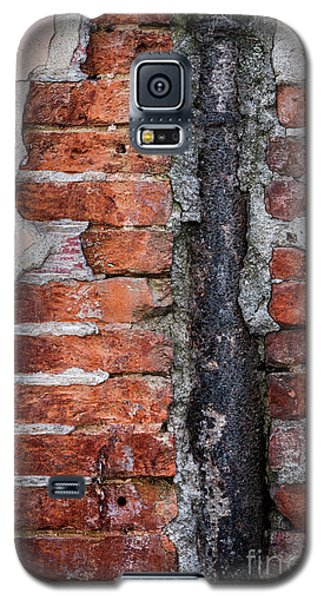 Galaxy S5 Case featuring the photograph Old Brick Wall Fragment by Elena Elisseeva