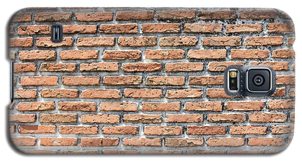 Galaxy S5 Case featuring the photograph Old Brick Wall by Jingjits Photography