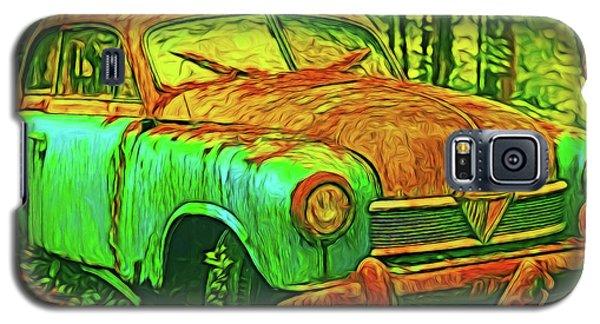 Old Car 16218 Galaxy S5 Case