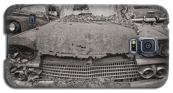 Old Car City In Black And White Galaxy S5 Case
