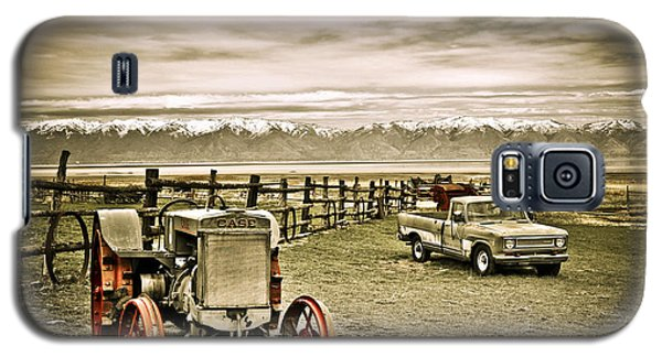Old Case Tractor Galaxy S5 Case