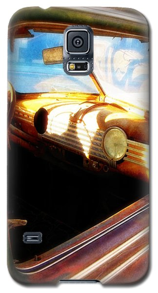 Galaxy S5 Case featuring the photograph Old Chevrolet Dashboard by Glenn McCarthy Art and Photography