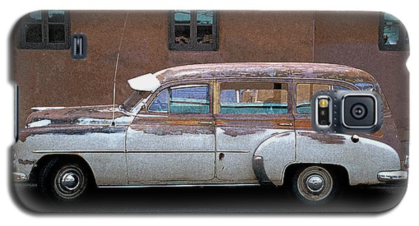 Galaxy S5 Case featuring the photograph Old Chevy by Jim Mathis