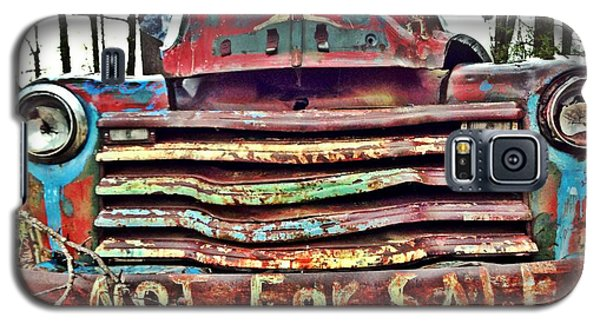 Old Chevy Truck With Graffiti Galaxy S5 Case