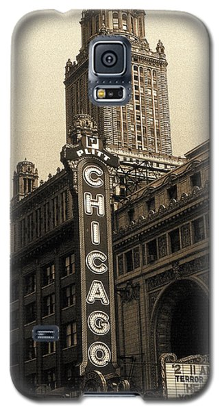 Old Chicago Theater - Vintage Art Galaxy S5 Case