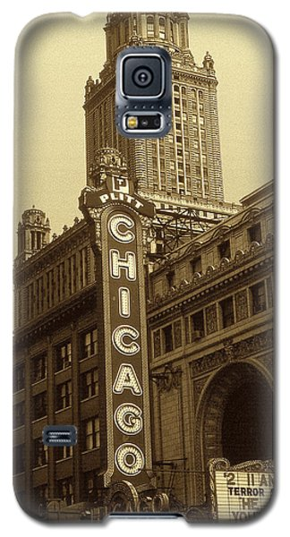 Old Chicago Theater - Vintage Photo Art Print Galaxy S5 Case