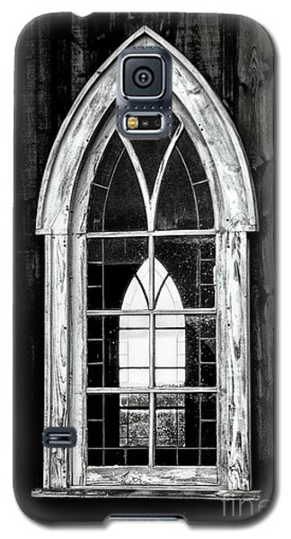 Galaxy S5 Case featuring the photograph Old Church Window by Brad Allen Fine Art