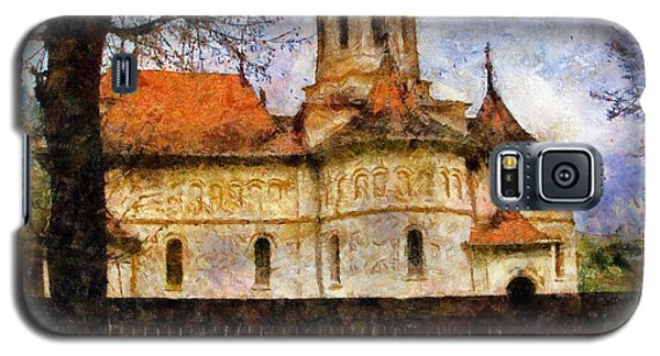 Old Church With Red Roof Galaxy S5 Case by Jeff Kolker
