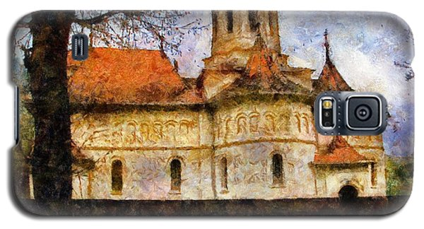 Old Church With Red Roof Galaxy S5 Case
