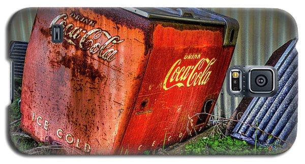 Old Coke Box Galaxy S5 Case