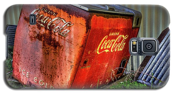 Old Coke Box Galaxy S5 Case