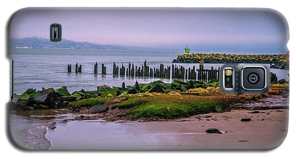 Old Columbia River Docks Galaxy S5 Case