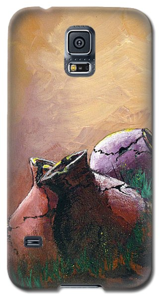 Old Cracked Pots-sold Galaxy S5 Case by Gary Smith