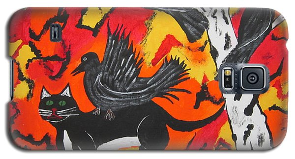 Old Crow Rodeo Galaxy S5 Case