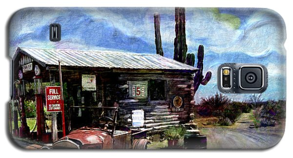 Old Desert Gas Station Galaxy S5 Case