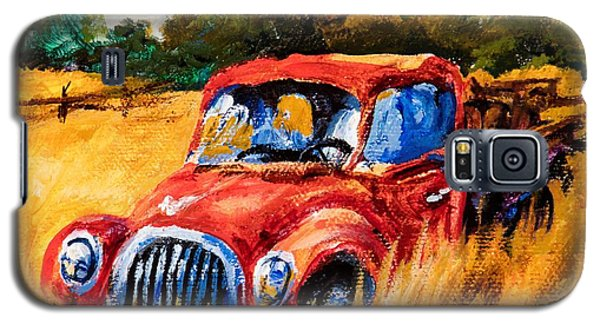 Galaxy S5 Case featuring the painting Old Friend by Igor Postash